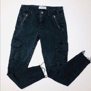 Zara Skinny Cargo Pants sz 4
